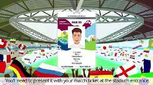 News video: The 2018 FIFA World Cup™ fans have ordered half a million FAN IDs