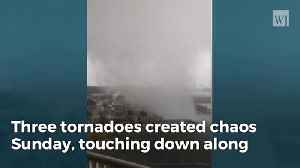 News video: Camera Captures Incredible Footage Of Waterspout Over Fort Walton Beach