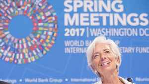 News video: IMF Says 2018 Economic Outlook is Rosy, But Austerity is Still Needed