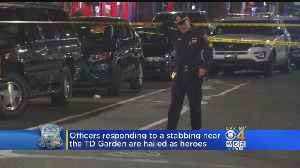 News video: Boston Police Seek Witnesses To Stabbing Near TD Garden