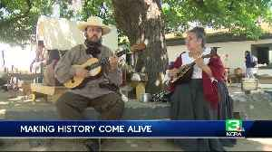 News video: Monthly event at Sutter's Fort gives visitors glimpse at its heyday
