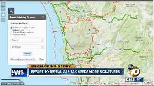 News video: Deadline approaching for CA Gas Tax Repeal