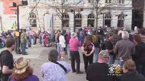 News video: More Than 100 Gun Supporters Rally In Greensburg