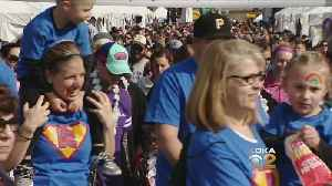 News video: Thousands Participate In Annual 'March For Babies' On North Shore