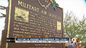 News video: Plaque honors victims of 1964 military plane collision over Wilmington, Ohio