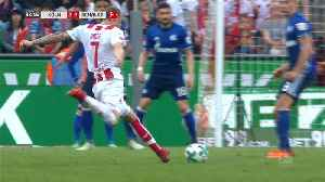 News video: Spectacular Risse goal not enough as Cologne face the drop