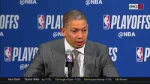 News video: Ty Lue credits Cavs' bench bunch, veterans for coming through