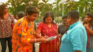 News video: Transgender community stages protest in eastern India over rising rape incidents