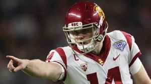News video: Sam Darnold reveals what separates him from other QB draft prospects, Talks going to Browns or Giants