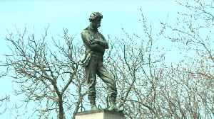 News video: Protesters Demand Removal of Confederate Monument in Chicago Cemetery