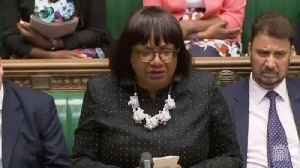 News video: Diane Abbott On The Windrush Generation