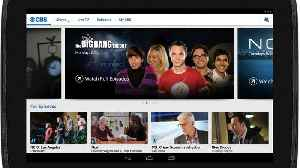 News video: CBS Launches All Access Streaming Service In Canada