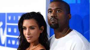 News video: Kanye West Caught Smiling In Adorable Family Photo With Kim Kardashian