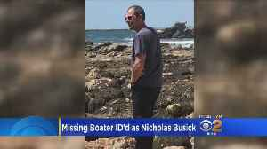 News video: Newport Beach Man Identified As Missing Boater