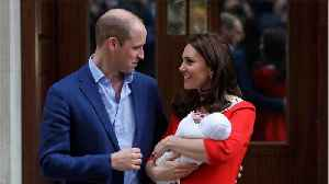 News video: Prince William, Duchess Kate Welcome Third Baby