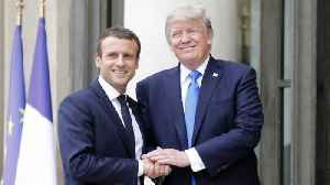 News video: Trump-Macron Bromance: How US, French Relations Have Changed