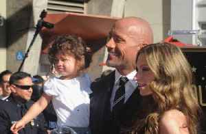 """News video: Dwayne """"The Rock"""" Johnson Welcomes New Baby Girl!"""
