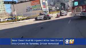 News video: Canada Police Say Driver That Hit Pedestrians In Custody