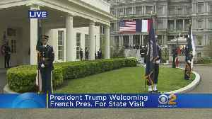 News video: French President Makes State Visit