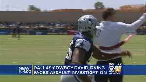 News video: Police Investigating Dallas Cowboys Player For Alleged Assault