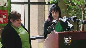 News video: Kidney Recipient From Viral Video Reunited With Donor At Organ Transplant Ceremony