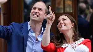 News video: Celebrities Congratulate Kate & William On 3rd Baby