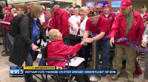 News video: Vietnam vets thanked on first Badger Honor Flight of 2018