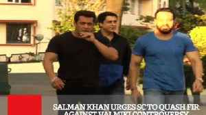 News video: Salman Khan Urges SC To Quash FIR Against Valmiki Controversy