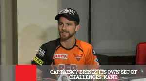 News video: Captaincy Brings Its Own Set Of Challenges : Kane