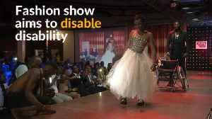 News video: Disabled fashion show aims to change attitudes in the Democratic Republic of Congo