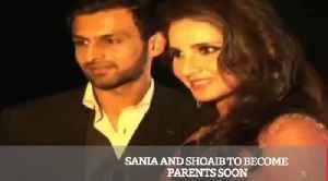 News video: Sania And Shoaib To Become Parents Soon