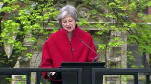 News video: May: I wouldn't be standing here if it weren't for Forsyth
