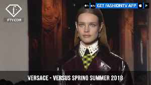 News video: Donatella Versace Goes Nineties New York with Versus Spring/Summer 2018 | FashionTV | FTV