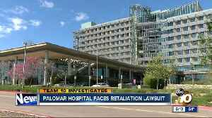 News video: Exclusive: Security officer sues Palomar Medical Center for retaliation, sexual harassment
