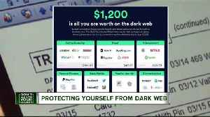 News video: What your accounts are worth on the dark web