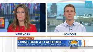 News video: User Data Sharing Was 'Normal' at Facebook Cambridge Analytica Researcher