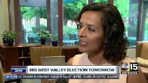 News video: District 8 candidates prepare on eve of special Arizona election