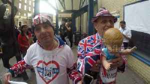 News video: Royal superfans 'delighted' after birth of royal baby