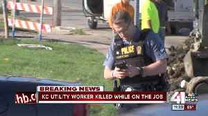 News video: Utility worker fatally shot east of downtown KC