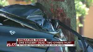 News video: Lakewood High School student dead, 2 students injured after accident in St. Pete