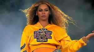 News video: Beyonce Falls Down With Solange at Coachella Weekend 2