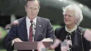 News video: Former President George H.W. Bush Admitted To Houston Hospital