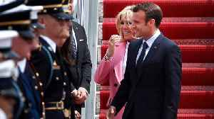 News video: Trump Rolls Out The Red-Carpet For Macron