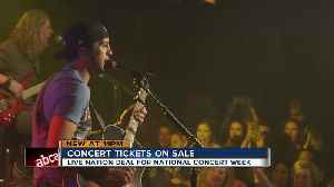 News video: Live Nation announces $20 concert ticket deal in honor of National Concert Week