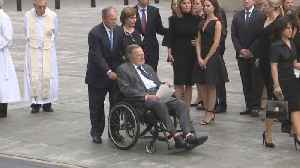 News video: Is President George H.W. Bush Suffering From Broken Heart Syndrome?