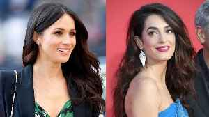 News video: How Meghan Markle Might Channel Amal Clooney at the Royal Wedding