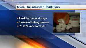 News video: Overuse of over-the-counter painkillers