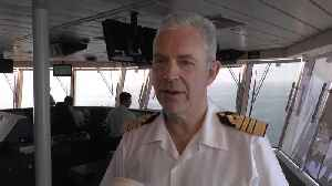 News video: Interview with Captain Bengtsson from Norwegian Bliss
