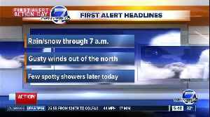 Tuesday morning forecast: First Alert Action Day