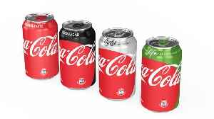 News video: Coke Sales Strong Behind Diet Coke Reboot